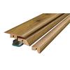 SimpleSolutions 2.37-in x 78.74-in River Road Oak 4-n-1 Floor Moulding