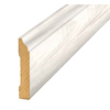 Pergo 3.3-in x 94.5-in Off-White Pine Base Floor Moulding