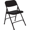 National Public Seating Set of 4 Indoor Steel Unfinished Standard Folding Chair