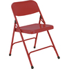 National Public Seating Indoor Steel Unfinished Standard Folding Chair