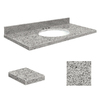 Transolid Granite Bathroom Vanity Top (Common: 37-in x 19-in; Actual: 37-in x 19.25-in)