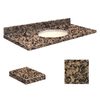 Transolid Granite Bathroom Vanity Top (Common: 43-in x 22-in; Actual: 43-in x 22.25-in)