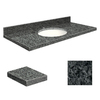 Transolid Granite Bathroom Vanity Top (Common: 49-in x 19-in; Actual: 49-in x 19.25-in)