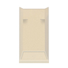Style Selections Solid Surface Wall and Floor 4-Piece Alcove Shower Kit (Common: 36-in x 36-in; Actual: 75-in x 36-in x 36-in)