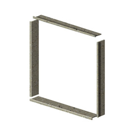 Shop Transolid Decor Peppered Sage Shower Wall Window Trim