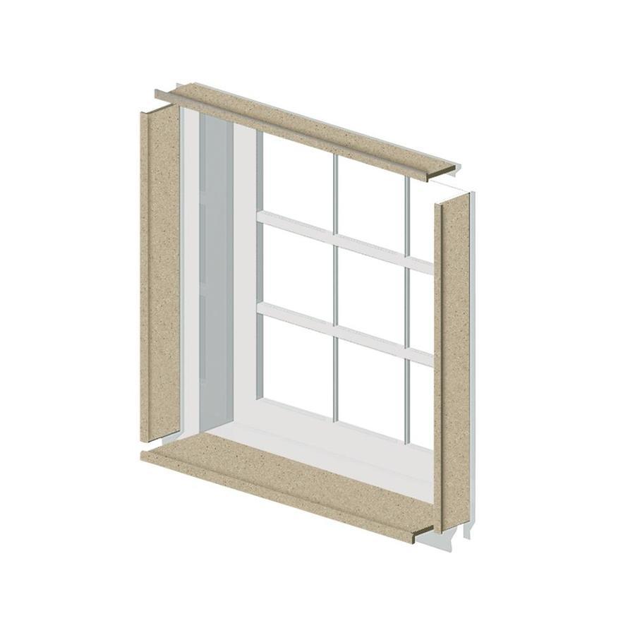 Shop Transolid Decor Matrix Sand Shower Wall Window Trim