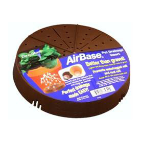 "AirBase 6-1/2""L x 6-1/2""W x 1-7/8""D Plastic Planter Liner"