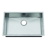 Frigidaire Frigidaire Professional 28.5-in x 18.5-in Brushed Stainless Single-Basin Undermount Commercial Kitchen Sink