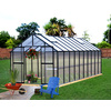 Monticello 16.3-ft L x 8.1-ft W x 7.6-ft H Metal Greenhouse