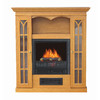 Stay-Warm 36-in Golden Oak Electric Fireplace