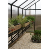 Monticello 16-ft L x 2-ft L x 30-in H Greenhouse Work Bench