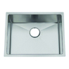 Frigidaire Frigidaire Gallery 22.5-in x 18.5-in Brushed Stainless Single-Basin Undermount Commercial Kitchen Sink