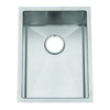 Frigidaire Frigidaire Gallery 14.5-in x 18.5-in Brushed Stainless Single-Basin Undermount Commercial Kitchen Sink