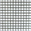 EPOCH Architectural Surfaces Alpinez 5-Pack Whites Uniform Squares Mosaic Glass Wall Tile (Common: 12-in x 12-in; Actual: 11.45-in x 11.45-in)