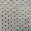 EPOCH Architectural Surfaces 5-Pack Alpinez Whites Glass Mosaic Wall Tile (Common: 12-in x 12-in; Actual: 11.69-in x 11.73-in)
