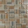 EPOCH Architectural Surfaces 12-in x 12-in Contempo Multicolor Glass Wall Tile