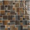 EPOCH Architectural Surfaces 5-Pack 12-in x 12-in Contempo Multicolor Glass Wall Tile