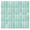 EPOCH Architectural Surfaces 12-in x 12-in Futerez Green Glass Wall Tile