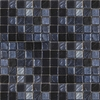 EPOCH Architectural Surfaces Metalz Metallic Uniform Squares Mosaic Glass Wall Tile (Common: 12-in x 12-in; Actual: 12.25-in x 12.25-in)