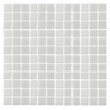 EPOCH Architectural Surfaces Oceanz White Uniform Squares Mosaic Glass Wall Tile (Common: 12-in x 12-in; Actual: 12.25-in x 12.25-in)