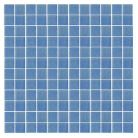 EPOCH Architectural Surfaces Oceanz Blue Honed Glass Mosaic Square Indoor/Outdoor Wall Tile (Common: 12-in x 12-in; Actual: 12.25-in x 12.25-in)