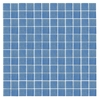 EPOCH Architectural Surfaces Oceanz Blue Uniform Squares Mosaic Glass Wall Tile (Common: 12-in x 12-in; Actual: 12.25-in x 12.25-in)