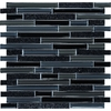 EPOCH Architectural Surfaces Spectrum Multicolor Mosaic Glass/Metal/Stone Wall Tile (Common: 12-in x 12-in; Actual: 11.75-in x 11.87-in)