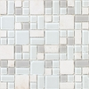 EPOCH Architectural Surfaces Ka 'Oi Multicolor Mosaic Glass/Metal/Stone Wall Tile (Common: 12-in x 12-in; Actual: 11.75-in x 11.75-in)