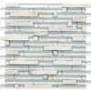 EPOCH Architectural Surfaces Varietals 5-Pack Multicolor Mosaic Glass/Metal/Stone Wall Tile (Common: 12-in x 12-in; Actual: 11.75-in x 11.87-in)