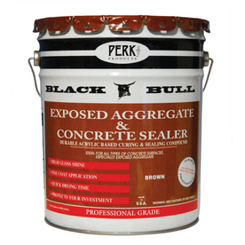 Black Bull 5-Gallon Brown Exposed Aggregate Concrete Sealer