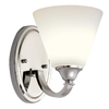 Portfolio Chrome Bathroom Vanity Light