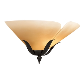 Portfolio 16-in W 1-Light Bronze Pocket Hardwired Wall Sconce