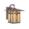 allen + roth Vistora 14-1/2-in Bronze Outdoor Wall Light