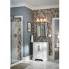 allen + roth 3-Light Flynn Polished Chrome Bathroom Vanity Light
