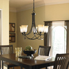 allen + roth Winnsboro 5-Light Oil-Rubbed Bronze Chandelier