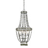 Style Selections 16-in 4-Light Brushed Nickel Standard Chandelier