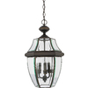 Portfolio Brayden 18.5-in Bronze Outdoor Pendant Light