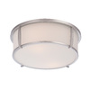 allen + roth 12.91-in W Ceiling Flush Mount Light
