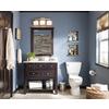 allen + roth Hagen Espresso Undermount Single Sink Birch/Poplar Bathroom Vanity with Engineered Stone Top (Common: 36-in x 21-in; Actual: 36-in x 21-in)