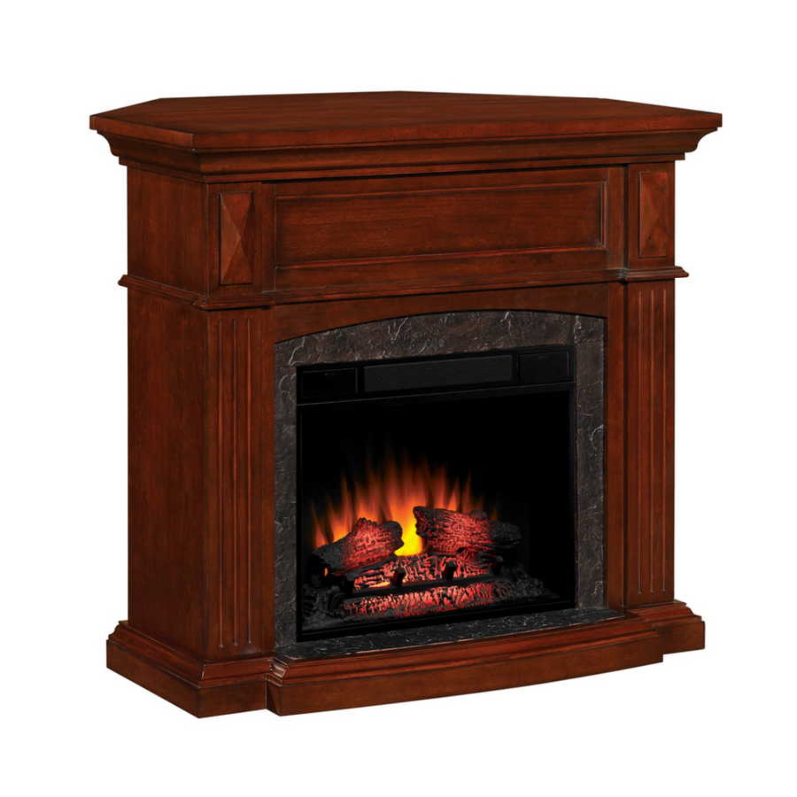 Shop Allen Roth 23 Traditional All In One Electric Fireplace At