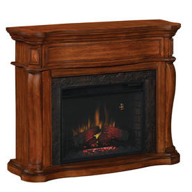 Shop Allen Roth 28 Traditional All In One Electric Fireplace At