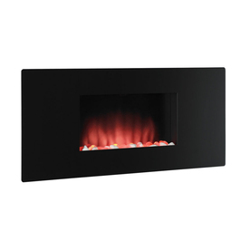 Style Selections Compact Zen Wall Mount Electric Fireplace From Lowes Fireplaces House