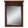 allen + roth 26-in x 34-in Mink Rectangular Framed Mirror