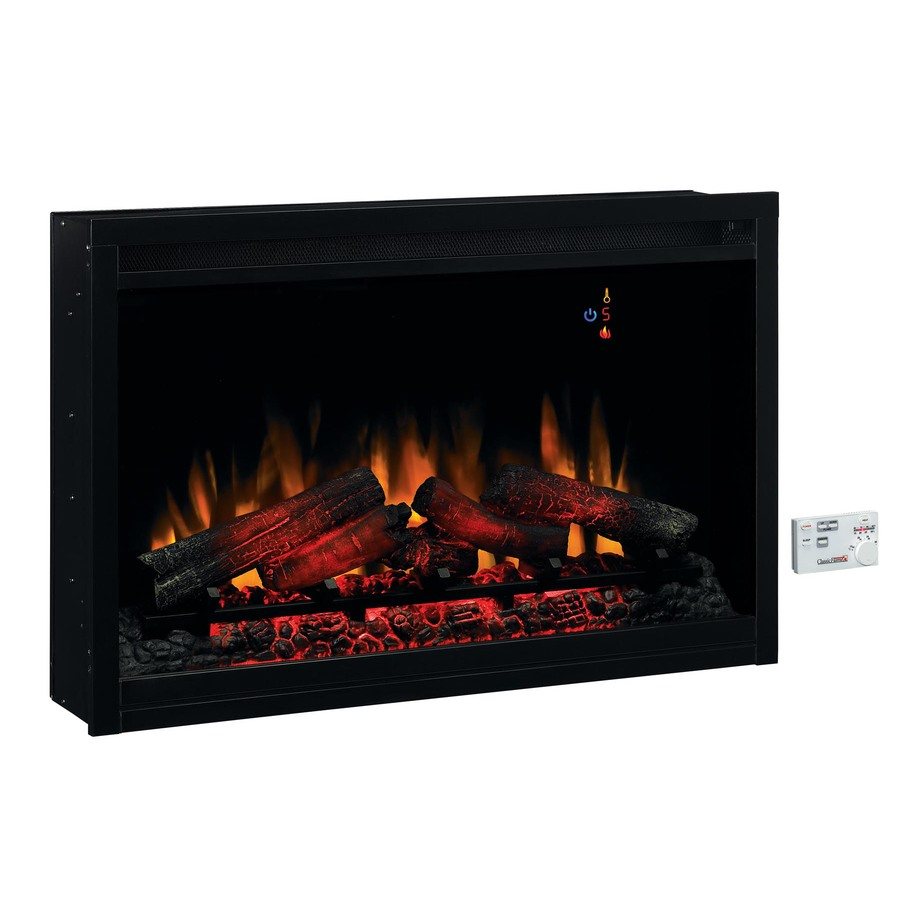 Shop 36 In Black Electric Fireplace Firebox At