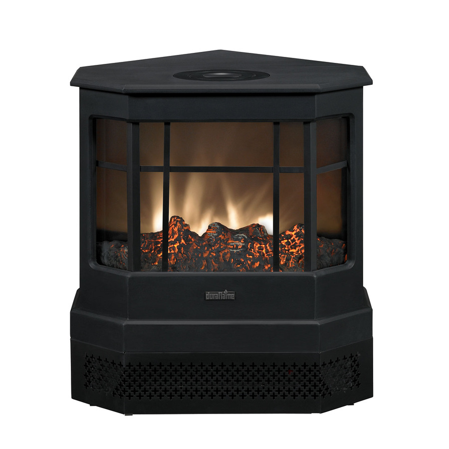 Shop Duraflame Black Electric Stove At