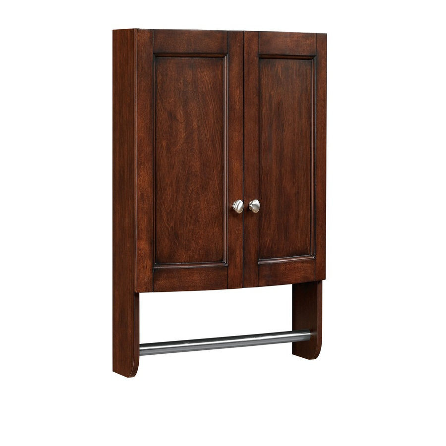 shop allen roth moravia sable storage cabinet common