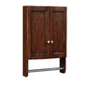 allen + roth Moravia 22-in W x 25-in H x 8.12-in D Sable Poplar Bathroom Wall Cabinet
