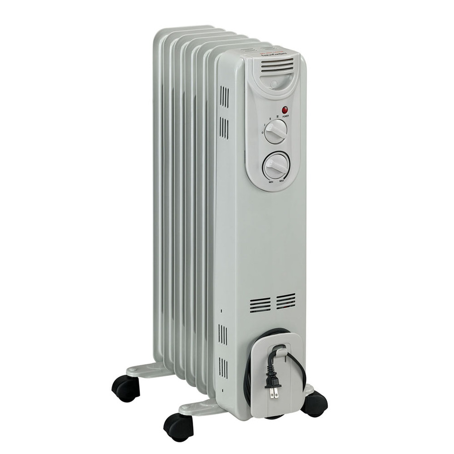 DeLonghi EW9707 Oil-Filled Radiant Tower Electric Space Heater | Lowe