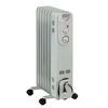 4,600-BTU Oil-Filled Radiant Tower Electric Space Heater with Thermostat