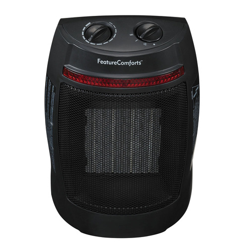 1500W Feature Comforts Ceramic Space Heater $14